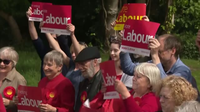Labour Party suspend Jared O'Mara over offensive comments LIB / TX South Yorkshire Sheffield EXT Jared O'Mara MP applauded as along and with...