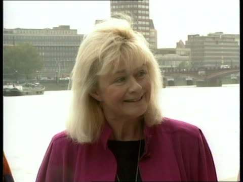 Labour shadow cabinet reshuffle ITN EXT Westminster Four women shadow cabinet members onto terrace Ann Clwyd MP intvw SOF Margaret Beckett MP intvw...