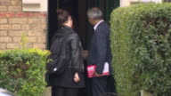 Labour's Mayor of London candidate Sadiq Khan handing out leaflets in Islington on the campaign trail