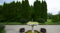 Ladew Toptary Gardens Maryland beautiful sculptured plants fountain Pink Garden gardens and flowers for tourist