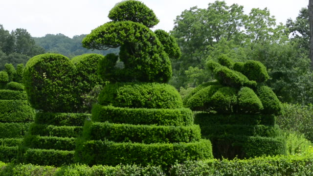 Ladew Toptary Gardens Maryland beautiful sculptured plants Terrace Garden fountain gardens for tourists