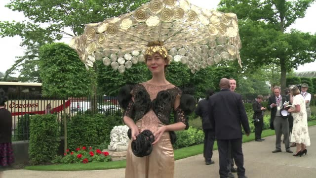 Ladies and gents were out in their finery on Thursday to make their mark at Ascot Ladies Day CLEAN Ascot Ladies Day big hats and high stakes on June...