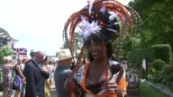 'Ladies' Day' at Royal Ascot ENGLAND Berkshire Ascot EXT Vox pops