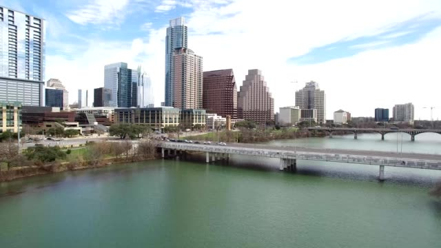 Lady Bird Lake and surrounding  landscapes