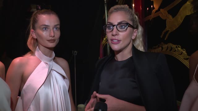 INTERVIEW Lady Gaga on what she loves about his collection on it being for a woman with a free spirit on the great year he's had so far says she...