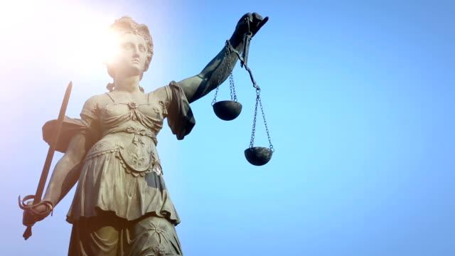 Lady Justice in Frankfurt