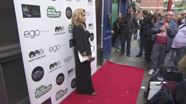 Lady Nadia Essex at Ego Professional x Macmillan Cancer National Blow Dry Day on July 28 2015 in London England