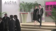 Laeticia Casta Jean Marc Barr Rossy de Palma Carmen Chaplin Agathe Bonitzer Ximena Navarrete Laurent Gerra Asia Argento Eric Serra coming out of...