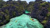 Lagunen i Palawan