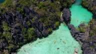 Lagune in Palawan