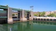 WS PAN Laguna Dam and Laguna Reservoir farm irrigation project at Colorado River, California, USA