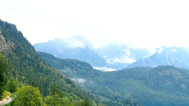 Lake Alpsee and Bavarian Alps