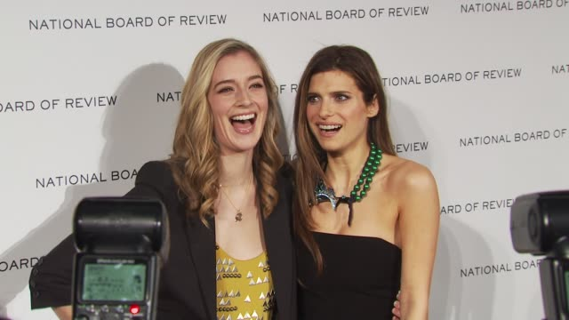 Lake Bell and guest at the 2010 National Board Of Review Awards Gala at New York NY
