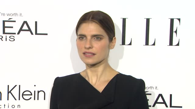Lake Bell at 20th Annual ELLE 'Women In Hollywood' in Beverly Hills CA on 10/21/13
