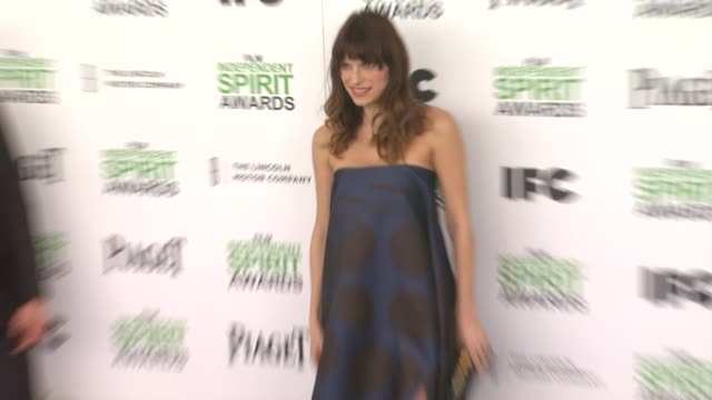 Lake Bell at the 2014 Film Independent Spirit Awards Arrivals on March 01 2014 in Santa Monica California