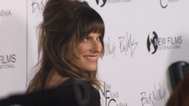 Lake Bell at the 'Burning Palms' Premiere at Hollywood CA