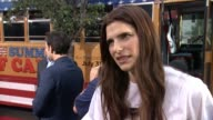 INTERVIEW Lake Bell on her favorite aspect of shooting the series working with Michael David her personal camp experience at Wet Hot American Summer...