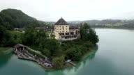 Lake Fuschl Aerial View
