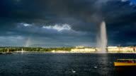Genfer See und den großen Springbrunnen 03