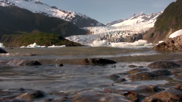 Lake glacier water mountains alaska patagonia mendenhall alps sweden granite