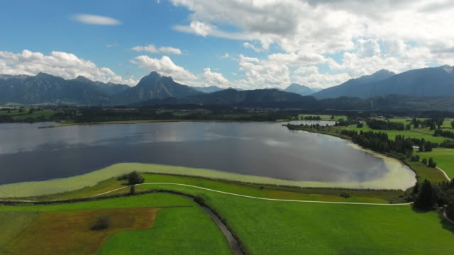 Lake Hopfensee In Bavarian Allgau
