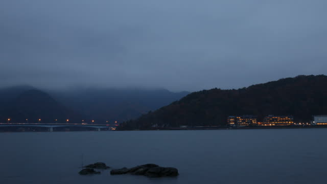 lake kawaguchiko Timelapse
