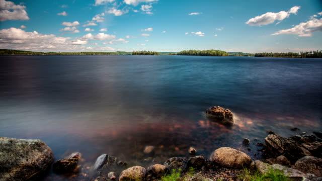 TIME LAPSE: Lake Landscape Sweden