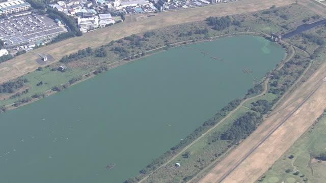 AERIAL, Lake Sai, Saitama, Japan