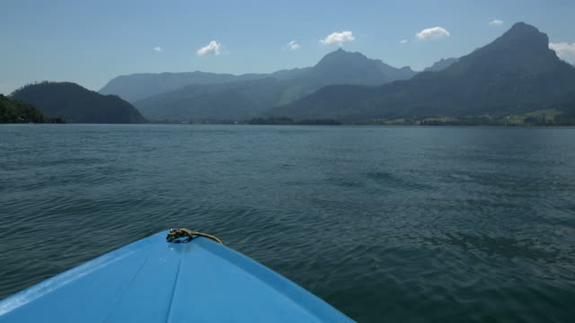 Lake Wolfgang, Salzkammergut, Upper Austria, Austria