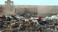 Landfill, Dump Truck, Bulldozer