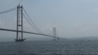 A landmark road bridge over the Marmara Sea will open to traffic in Turkey on Thursday which aims to drastically cut travel time between Istanbul and...