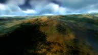 Landschaft Flug