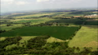 Landscape Near Lake Andes  - Aerial View - South Dakota, Charles Mix County, United States