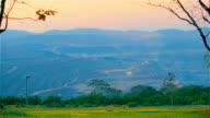 Landscape Of Coal Mine In Mae Moh Lampang Thailand