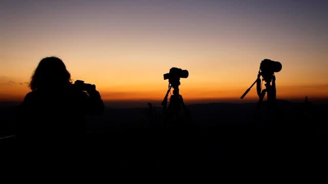 Landschaft drei Fotografen