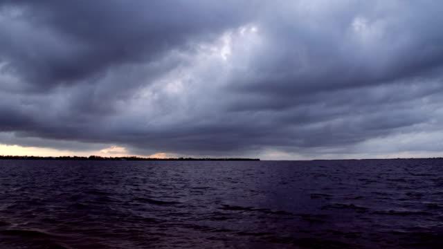 Landschaft mit Blick auf die Bucht