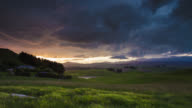 TIME LAPSE: Landscape with Dramatic Sky