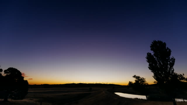 4K Landscapes: sunset - night time-lapse in rural Victoria, Australia