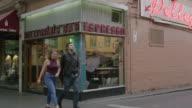 MS A laneway cafe in Melbourne, Australia