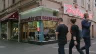 WS A laneway cafe in Melbourne, Australia
