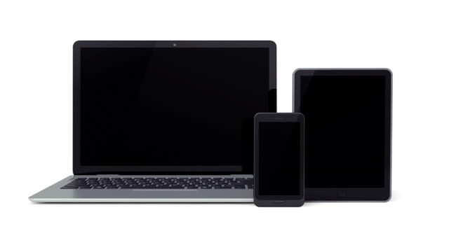 Laptop, Smartphone, Tablet