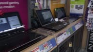 Laptops at Walmart on November 25 2013 in Los Angeles California