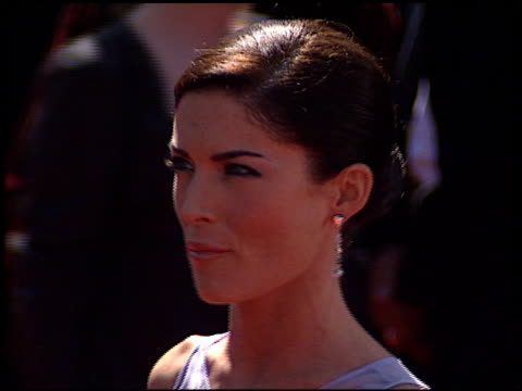 Lara Flynn Boyle at the 1999 Emmy Awards at the Shrine Auditorium in Los Angeles California on September 12 1999