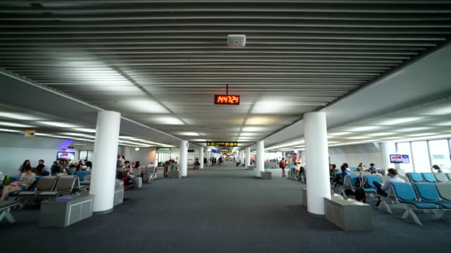 Large airport style environment