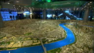 WS PAN Large architectural model of city of Shanghai in year 2020 on display at Shanghai Urban Planning Museum, Shanghai, China