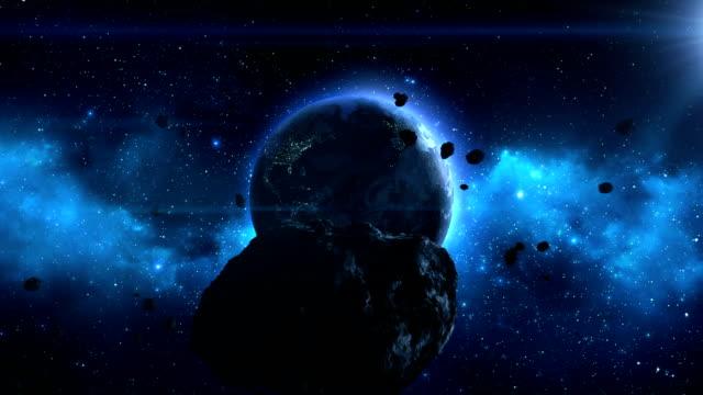 Grande Asteroide verso terra