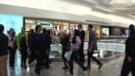 Large Crowds Shop At Woodfield Mall Shopping On Black Friday on November 23 2012 in Chicago Illinois