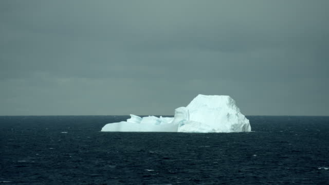 Large Iceberg Floats In Arctic Waters