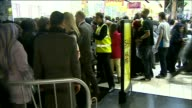 Large number of shoppers rush into Next store as barriers come down