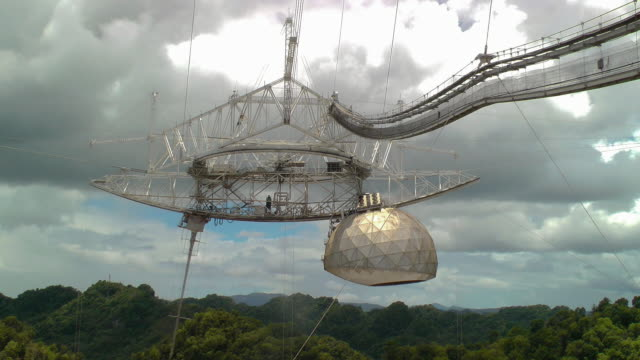 A large radio telescope